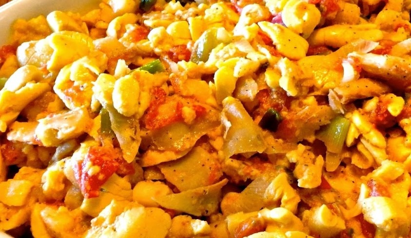 Classic Saltfish & Ackee From Jerk Centre