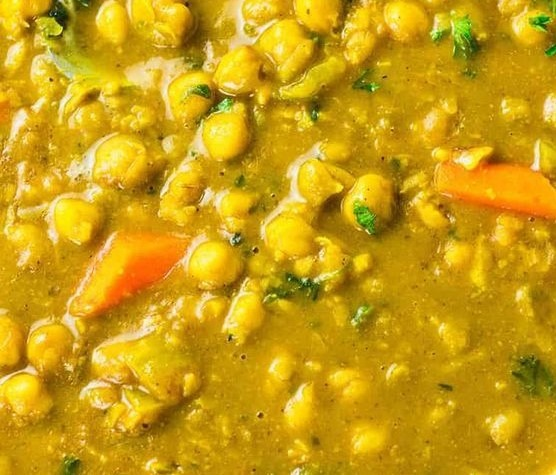 Jamaican Chickpeas Curry