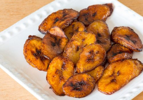 cooked plantain