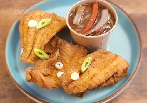 Fried Fish & Tangy Vegetables